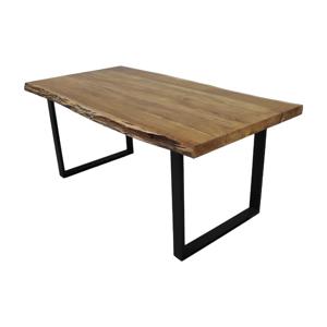 Jedálenský stôl s doskou z agátového dreva HMS collection SoHo, 280 x 100 cm