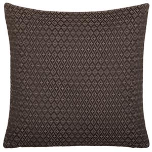 Hnedý obojstranný vankúš Kate Louise Parmio, 45 × 45 cm