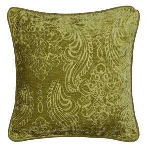 Zelený vankúš Kate Louise E×clusive Ranejo, 45 × 45 cm