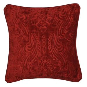 Červená obliečka na vankúš Kate Louise E×clusive Ranejo, 40 × 40 cm