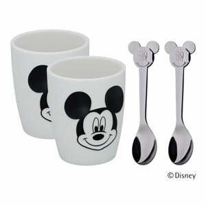 4-dielny detský jedálenský set WMF Cromargan® Mickey Mouse