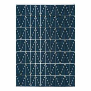 Modrý vonkajší koberec Universal Nicol Casseto, 140 x 200 cm