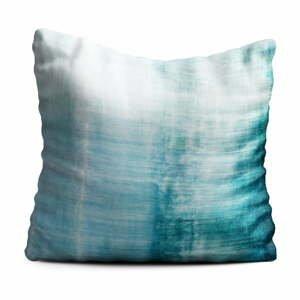 Modrý polštář Oyo home Oceana, 40x40cm