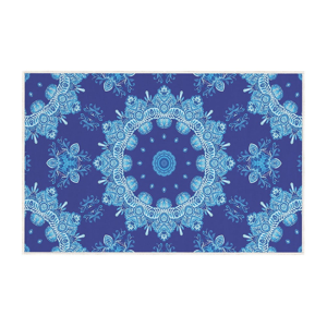 Modrý koberec Oyo home Zelda, 80x140cm