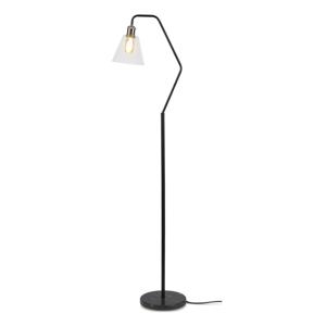 Čierna stojacia lampa Citylights Paris, výška 150 cm