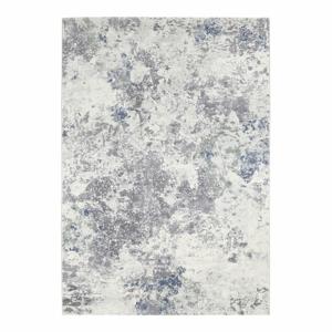 Svetlomodro-krémový koberec Elle Decor Arty Fontaine, 200 × 290 cm