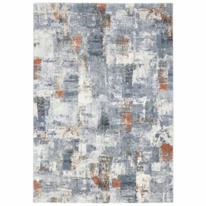 Modro-krémový koberec Elle Decor Arty Miramas, 200 × 290 cm