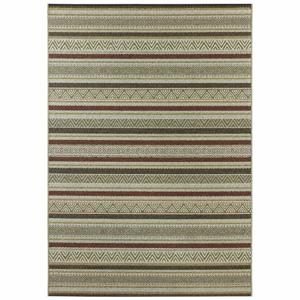 Zelený koberec vhodný aj do exteriéru Elle Decor Bloom Rodez, 80 × 150 cm