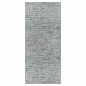 Antracitovomodrý behúň Elle Decor Curious Laval, 77×200 cm