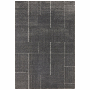 Tmavosivý koberec Elle Decor Glow Castres, 80 x 150 cm