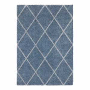 Modro-sivý koberec Elle Decor Maniac Lunel, 160 x 230 cm