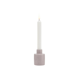 Kameninový svietnik A Simple Mess Orgon Lilac Ash, ⌀ 6,5 cm