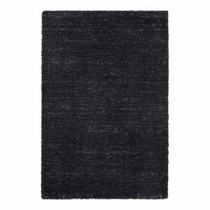 Antracitový koberec Elle Decor Passion Orly, 80×150 cm