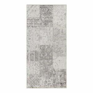 Sivo-krémový behúň behúň Elle Decor Pleasure Denain, 80×200 cm