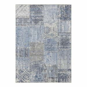 Modrý koberec Elle Decor Pleasure Denain, 120×170 cm