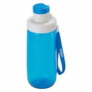 Modrá fľaša na vodu Snips Water, 500 ml