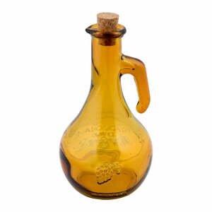 Žltá fľaša na ocot z recyklovaného sklaEsschert Design Di Vino, 500 ml