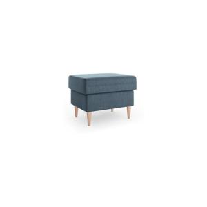 Modrý puf Mazzini Sofas Aubrieta, 60 × 45 cm