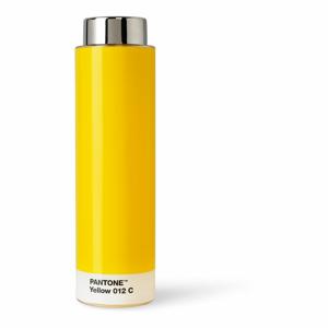 Žltá fľaša na vodu z tritanu Pantone, 500 ml
