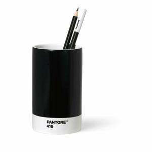 Čierny keramický stojan na ceruzky Pantone