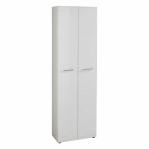 Biela skriňa Germania Adana, výška 197 cm