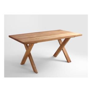 Jedálenský stôl z dubového dreva Custom Form Mavet, 180×90 cm