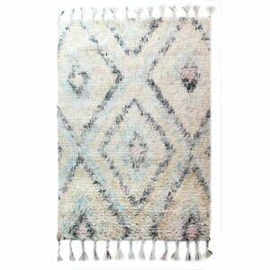 Svetlobéžový ručne tkaný koberec Flair Rugs Navajo, 120 × 170 cm