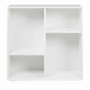 Biela polica Tenzo Z Cube, 70 x 70 cm