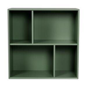 Tmavozelená polica Tenzo Z Cube, 70 x 70 cm