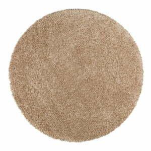 Svetlohnedý koberec Universal Aqua Liso, ø100cm