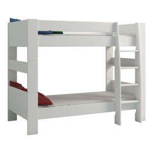 Krémovobiela detská poschodová posteľ Steens For Kids, výška 164 cm