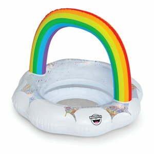 Nafukovací kruh pre deti v tvare dúhy Big Mouth Inc.