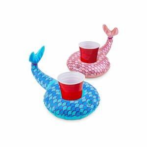 Súprava 2 nafukovacích kruhov na nápoje v tvare morských panien Big Mouth Inc.