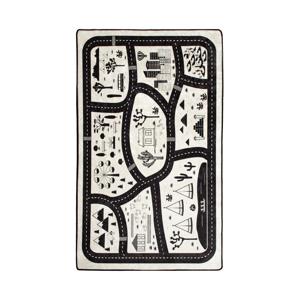 Detský koberec Black City, 140 × 190 cm