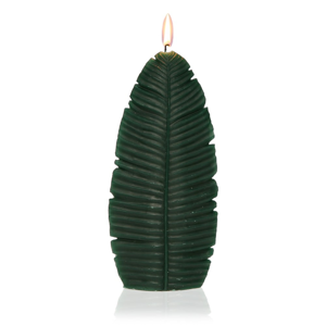 Dekoratívna sviečka v tvare listu Versa Hoja Grande