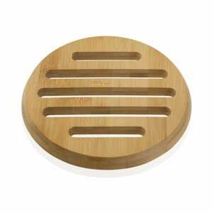 Bambusová podložka pod hrniec Versa Bambú, ø 20 cm