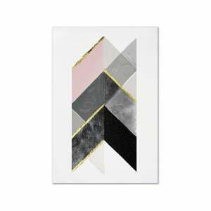 Nástenný ručne maľovaný obraz JohnsonStyle The Arrow, 60 x 90 cm
