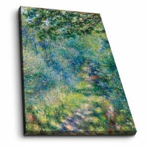 Nástenná reprodukcia na plátne Pierre Auguste Renoir, 45 × 70 cm