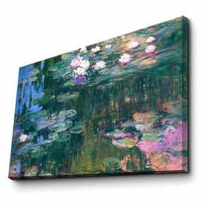 Nástenná reprodukcia na plátne Claude Monet, 45 × 70 cm