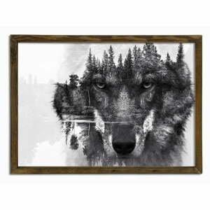 Nástenný obraz Husky, 70 × 50 cm