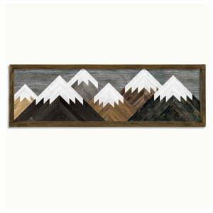 Nástenný obraz Mountains, 120 × 35 cm
