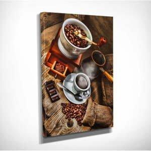 Nástenný obraz na plátne Coffee, 30 × 40 cm
