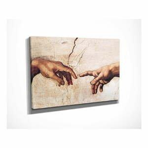 Nástenná reprodukcia na plátne Michelangelo, 40 × 30 cm
