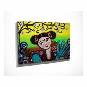 Nástenný obraz na plátne Girl, 40 × 30 cm