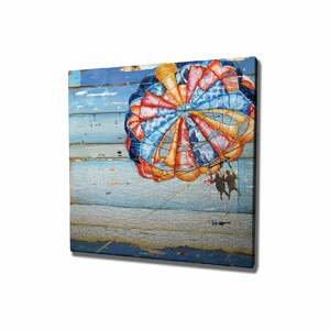 Nástenný obraz na plátne Parachute, 45 × 45 cm