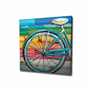 Nástenný obraz na plátne Bike, 45 × 45 cm