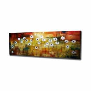Nástenný obraz na plátne Daisy, 80 × 30 cm
