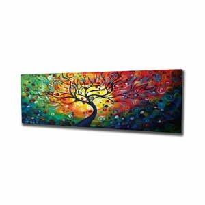 Nástenný obraz na plátne Tree, 80 × 30 cm