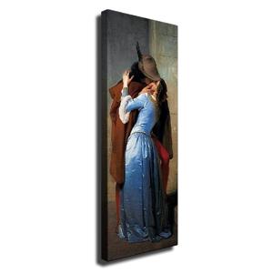 Nástenný obraz na plátne Romance, 30 × 80 cm