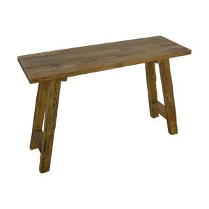 Príručný stolík z teakového dreva HSM collection Lawas